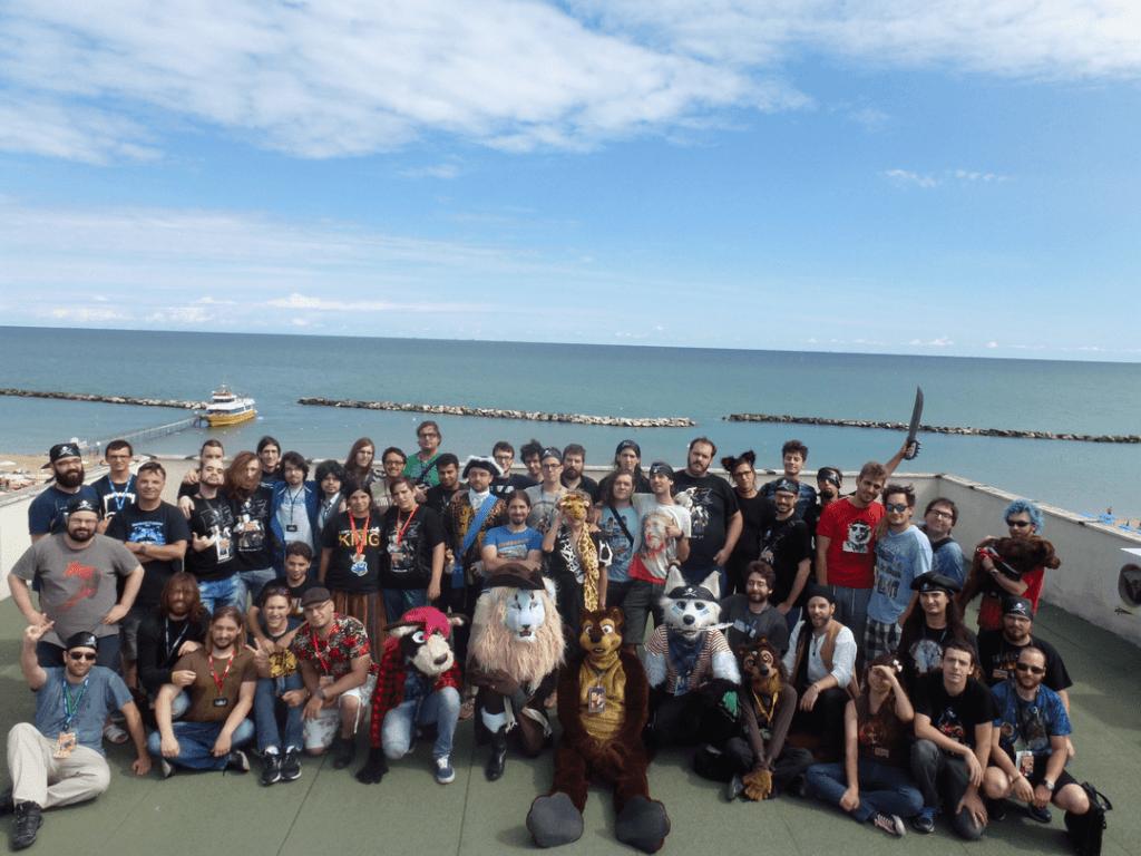 Zampacon 2017 - Foto di gruppo
